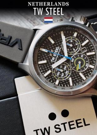 - 70% | мужские часы хронограф tw steel vr46 yamaha tw936 (оригинальные, новые с биркой)