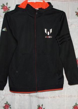 """Супер кофта черное с красным""""adidas"""",11-12 лет."""