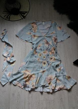 Платье на запах h&m