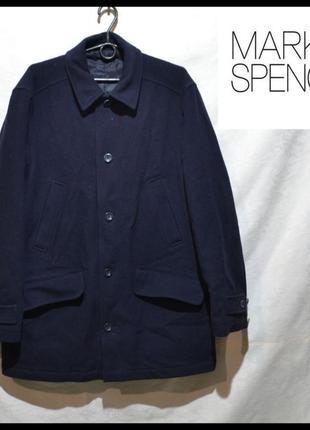 Брендове пальто чоловіче marks & spencer m-xl [великобританія] (мужское)1 фото