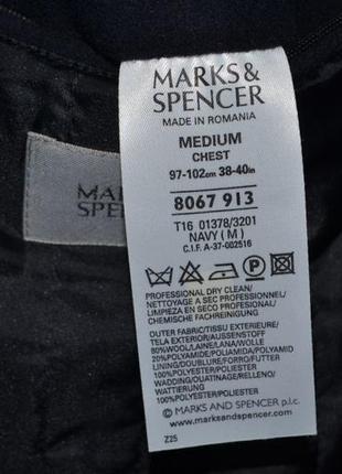 Брендове пальто чоловіче marks & spencer m-xl [великобританія] (мужское)6 фото