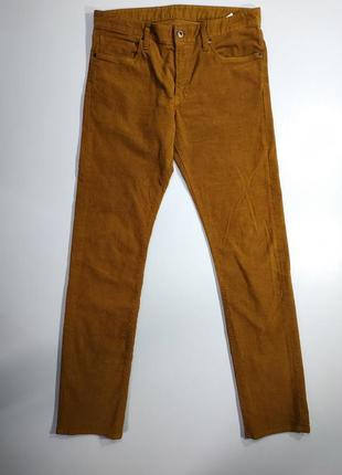Брендовые мужские вельветовые брюки uniqlo