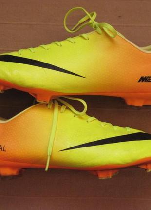 Nike mercurial victory iv fg (48,5) бутсы копочки мужские
