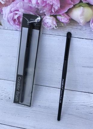 Кисть malva cosmetics - сontour brush/кисть для теней 006