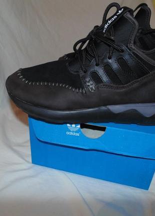 Кроссовки ботинки adidas tubular кожа и замша оригинал и коробка