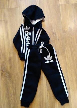 Детский спортивный костюм теплый