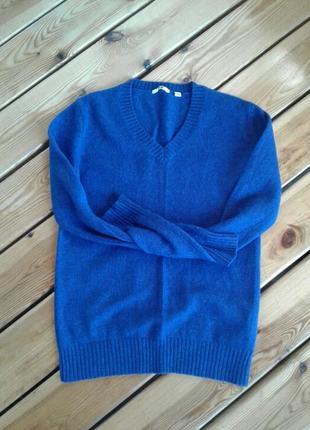 Шерстяной базовый свитер/джемпер uniqlo
