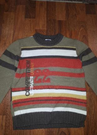 Шерстяной свитер chicco 128