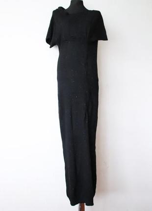 Красивейшее асимметричное платье в пол allsaints ангора кашемир шерсть в составе