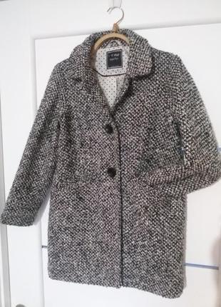 Шикарное модное пальто для девочки тм next