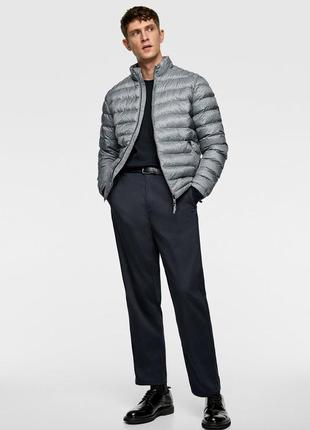 Zara куртка мужская демисезон р.l