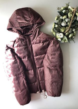 Бархатная куртка  размер с