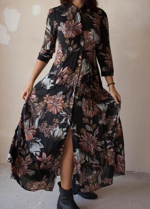 Романтическое  платье от зары