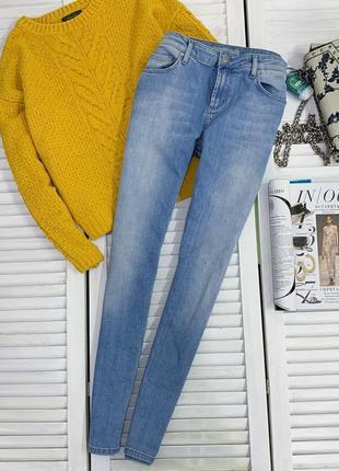 Блакитні плотні джинси