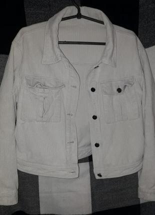 Вельветовая куртка:)(джинсовка)