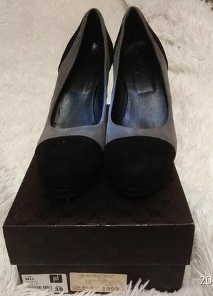 Замшевые итальянские туфельки fellini