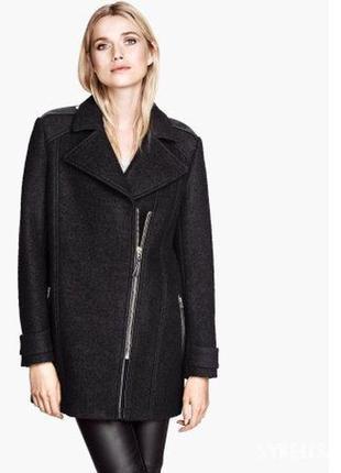 Шерстяная косуха-пальто 48-50 размер