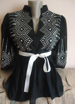 Блуза этностиль s-m