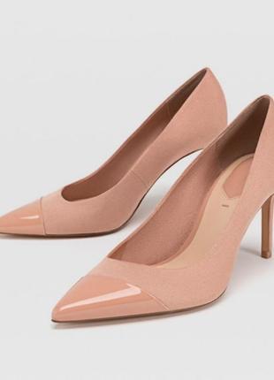 Туфли на шпильке stradivaruis