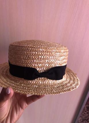 Соломьяная шляпа