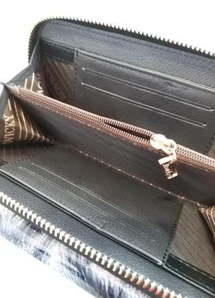 Женский кожаный кошелек rovicky 8808-ptr rfid3 фото