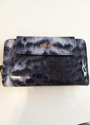 Женский кожаный кошелек rovicky 8808-ptr rfid5 фото