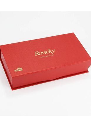 Женский кожаный кошелек rovicky 8808-ptr rfid6 фото