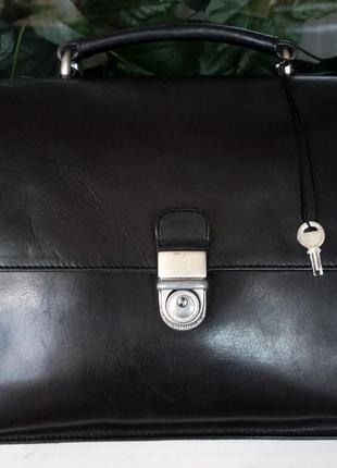 """Мягкий кожаный портфель дорогого бренда """"monsoon accesorize, london"""" , англия!"""