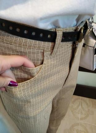 Крутые брюки штаны стрейч зауженные укороченные