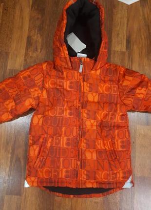 Новая куртка тополино 122см