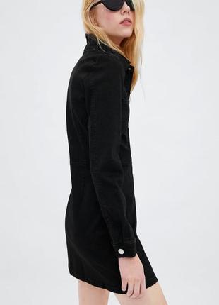 Новое джинсовое платье zara3 фото