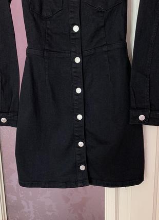 Новое джинсовое платье zara7 фото