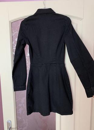 Новое джинсовое платье zara8 фото