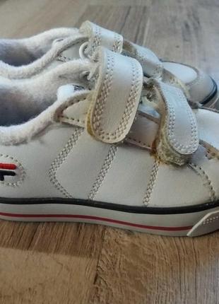 Fila кроссовки кеды кожаные на девочку и мальчика арт.3281