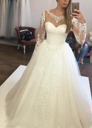 Свадебное платье фирмы «trinity bride» коллекция 2018 года