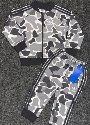 Спортивные костюм детский adidas camo outfit, на год оригинал