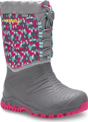 Яркая зима merrell snow сапоги ботинки оригинал  с америки на мороз и