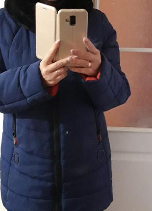 Зимняя женская куртка 48 р.