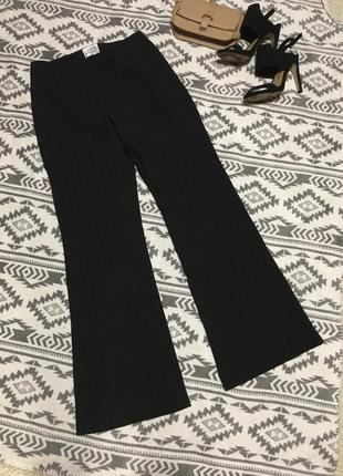 Классические брюки в полоску