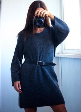 Теплое платье фирмы asos размер с