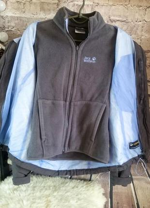 Куртка термо с подкладом jack wolfskin. оригинал.
