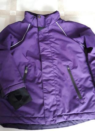 Тепла куртка на холодну осінь