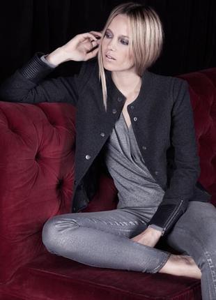 Шерсяной брендовый жакет пиджак куртка eva kayan / шерстяний жакет **косуха