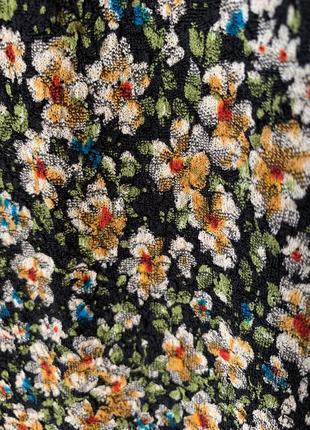 Новое платье с цветочным принтом zara4 фото