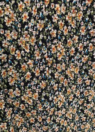 Новое платье с цветочным принтом zara5 фото
