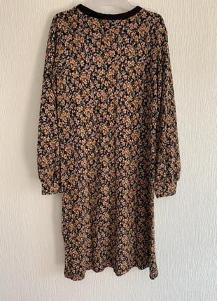 Новое платье с цветочным принтом zara2 фото