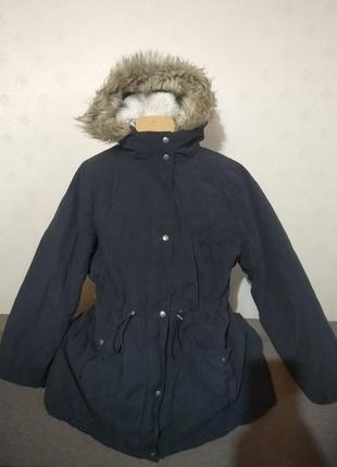Деми/еврозима куртка/пальто от george евро 50 на наш 56/58