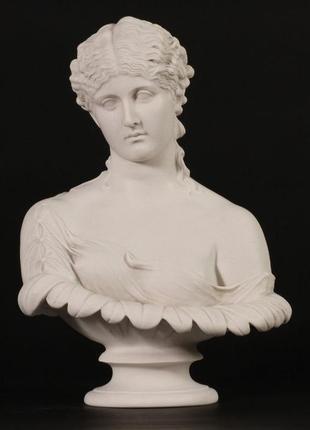 Бюст клитии интерьерная скульптура барокко клития 40-х гг ссср раритет