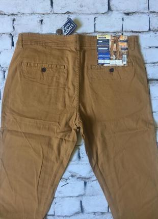 Мужские брюки отличного качества штаны цвета горчица3 фото