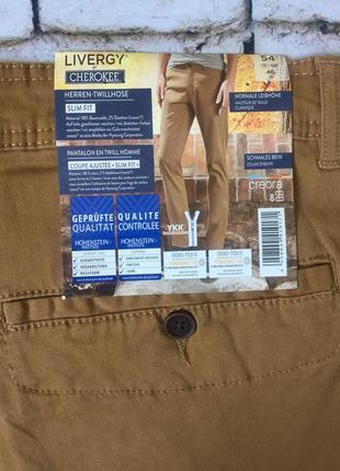 Мужские брюки отличного качества штаны цвета горчица6 фото